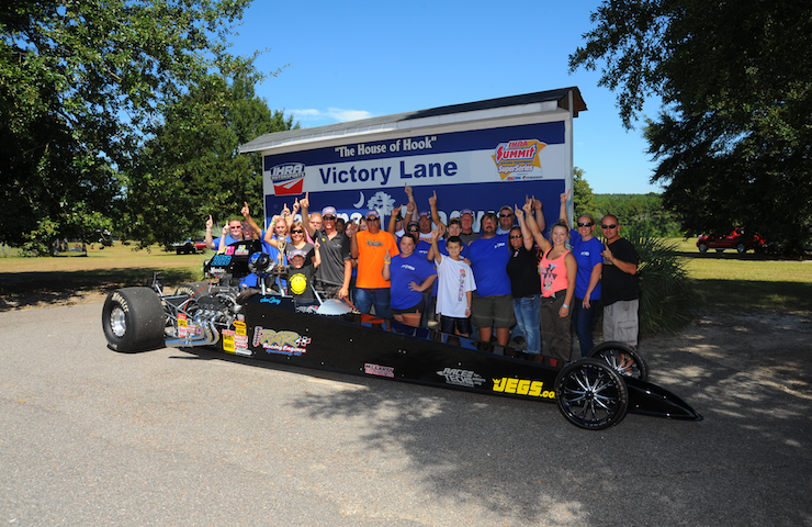 Joe Gary Wins Top Dragster at the Carolina Dragway House of Hook