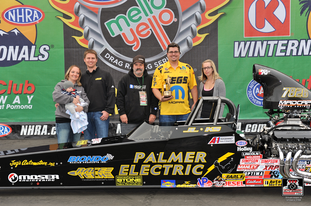 Kyle Seipel Named Best Engineered at NHRA Winternationals