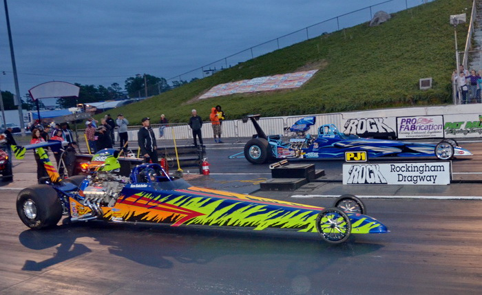 """Carolina Kid"" wins inaugural PDRA event at Rockingham!"