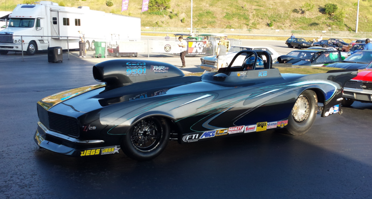 Kevin Brannon takes new Race Tech Roadster to the Fling