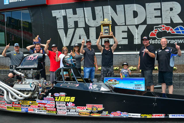 Tom Cable wins Spring Fling Points Championship