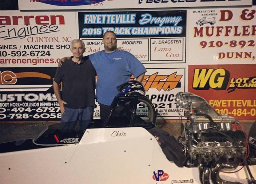 Chris Braxton Winner at Fayetteville