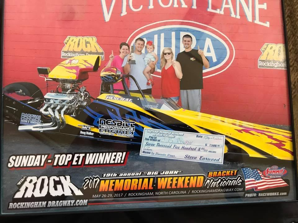 T G  Paschal Wins at the RocK | Race Tech Race Cars and