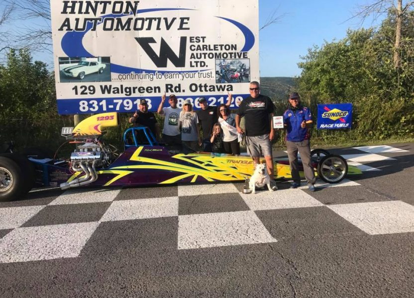 Frank Mark Gets a Win at Luskville Dragway
