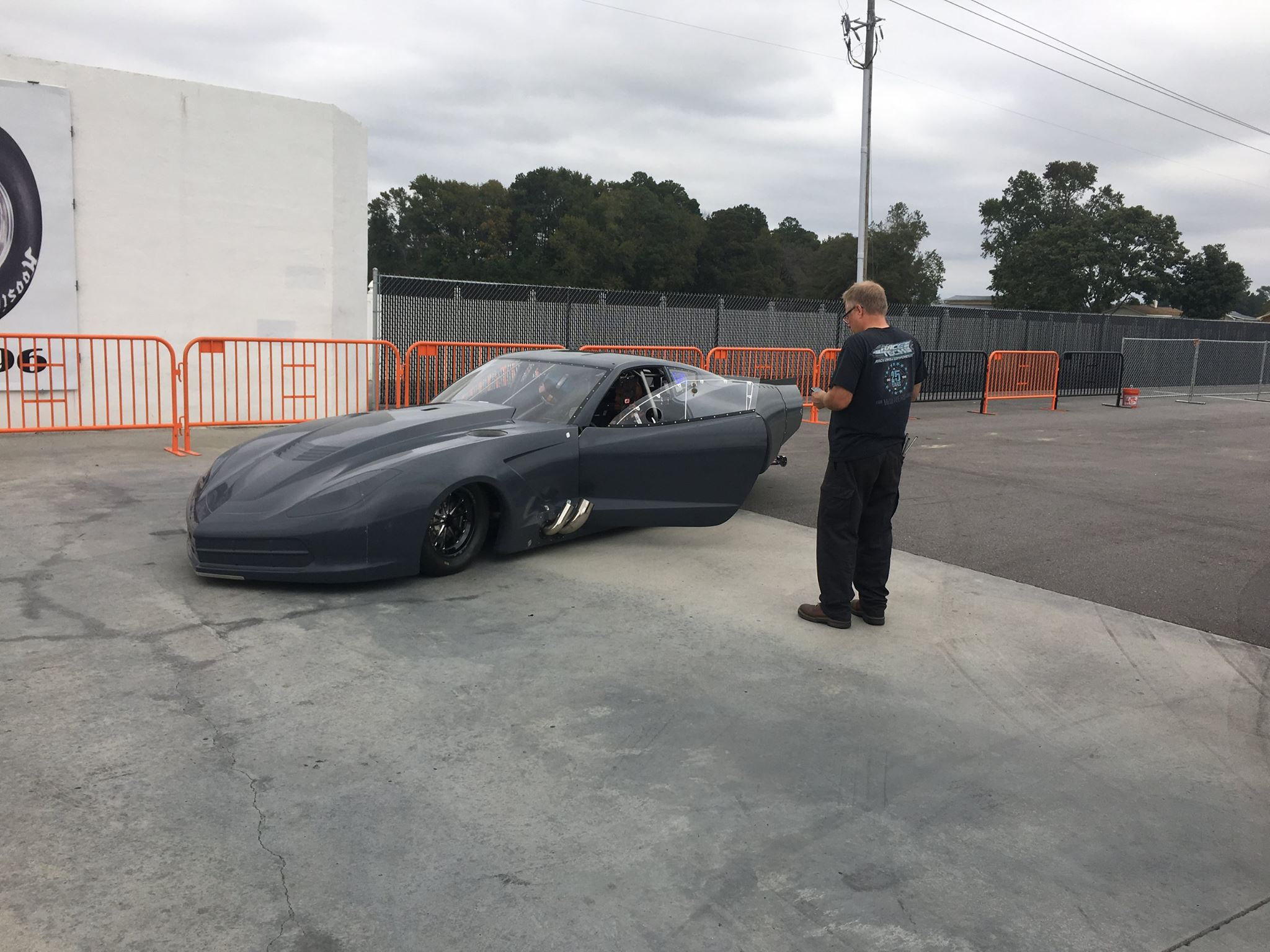 Phil Unruh's  Top Sportsman C7 Vette Takes Flight