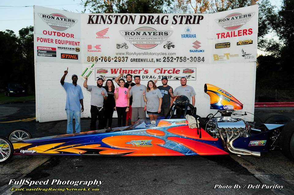 David Brown puts his Race Tech in the Winners Circle
