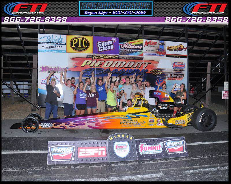 Micheal Paschal Wins Saturdays Gamblers Race