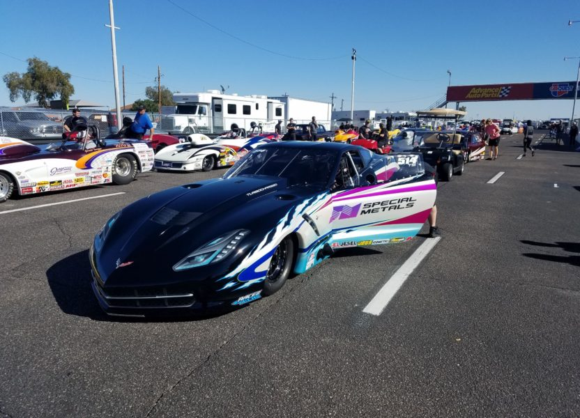 Twin Turbo Vette of Phil Unruh  Will be a Contender