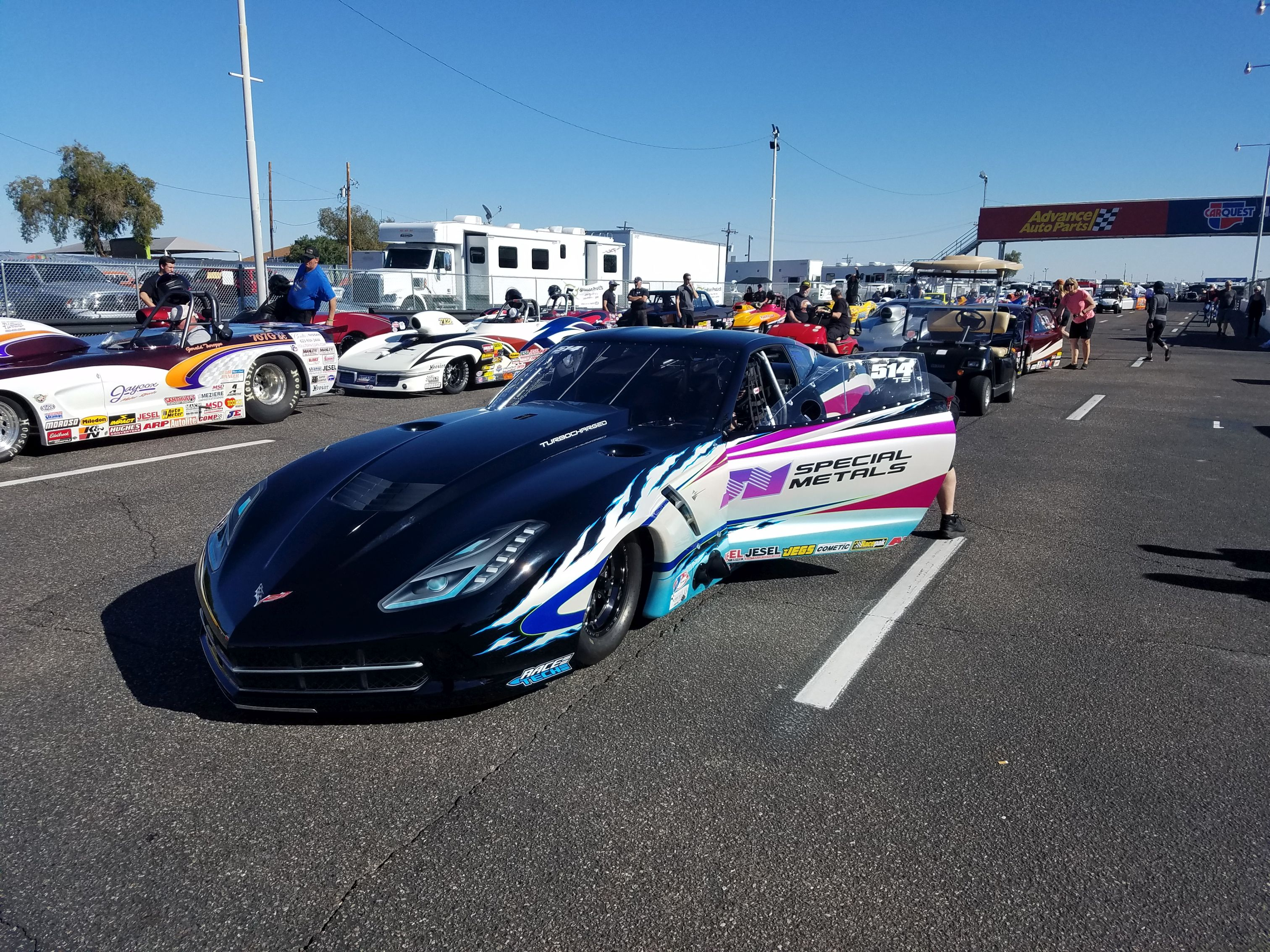 Twin Turbo Vette of Phil Unruh Will be a Contender | Race Tech Race ...