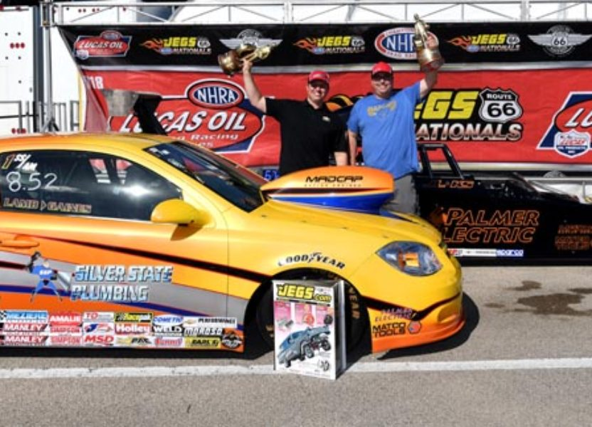 Kyle Seipel Wins Top Dragster