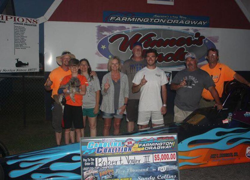 Robert Vogler Wins Carolina Coalition Race at Farmington