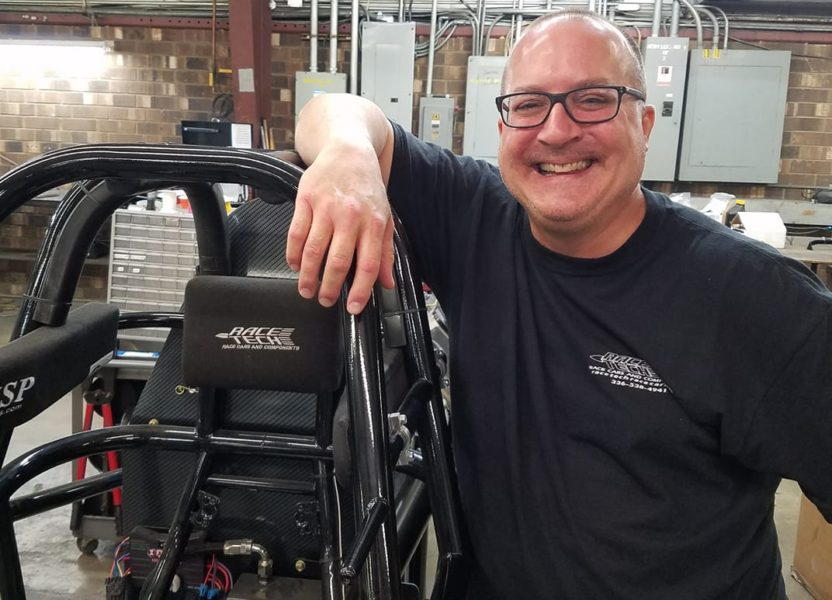 Rod Corder is back at Race Tech!