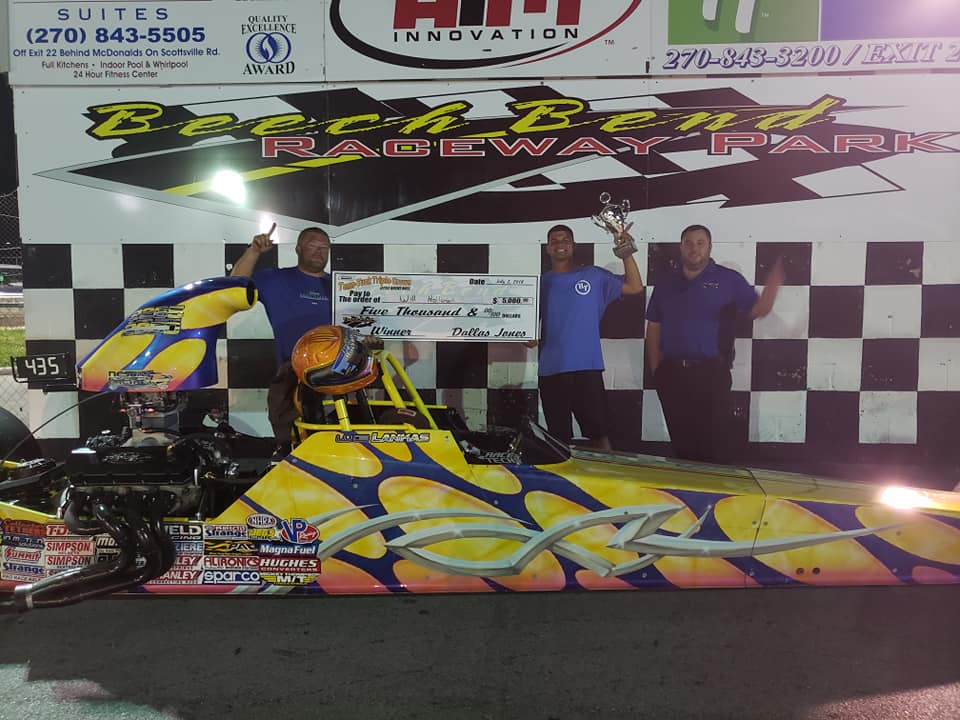 Will Holloman cashes in at Beech Bend
