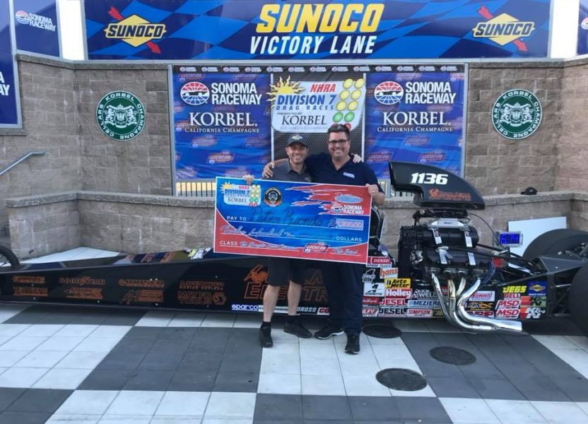 Peter Biondo wins at Sonoma!