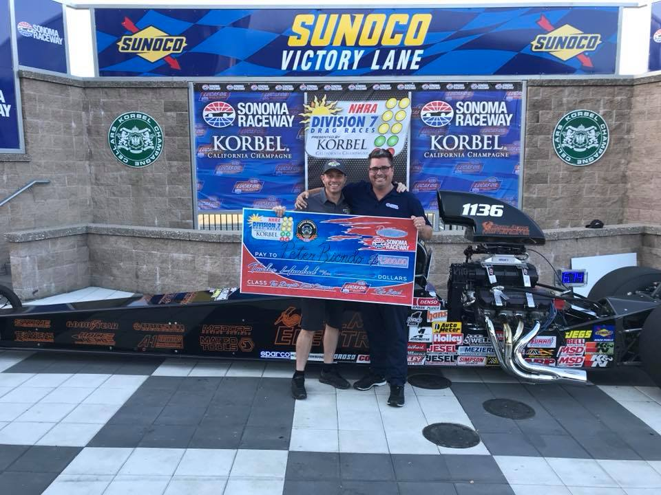 Peter Biondo wins at Sonoma!