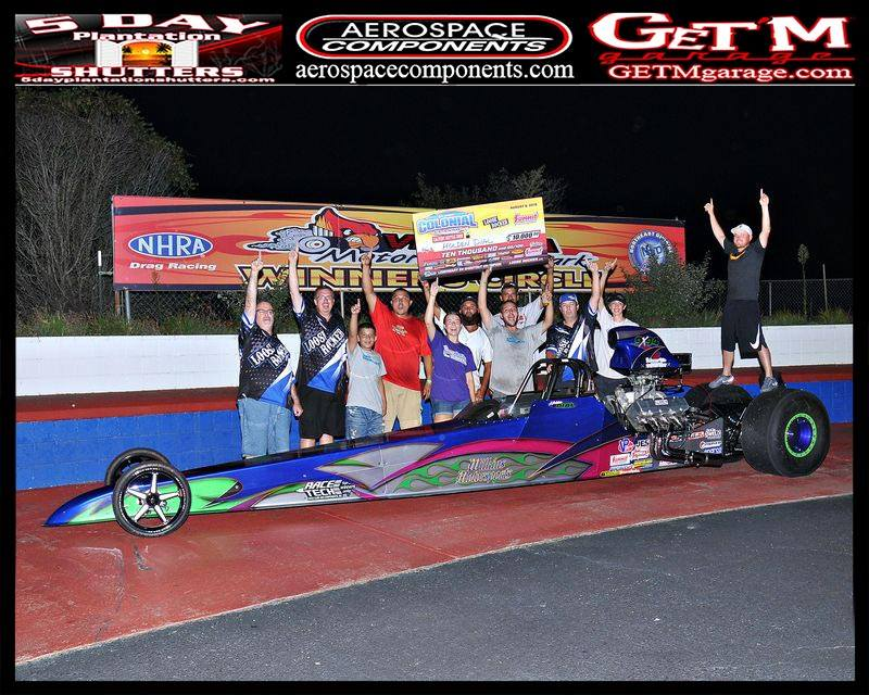 Holden Dial cracks em for 10k at VMP