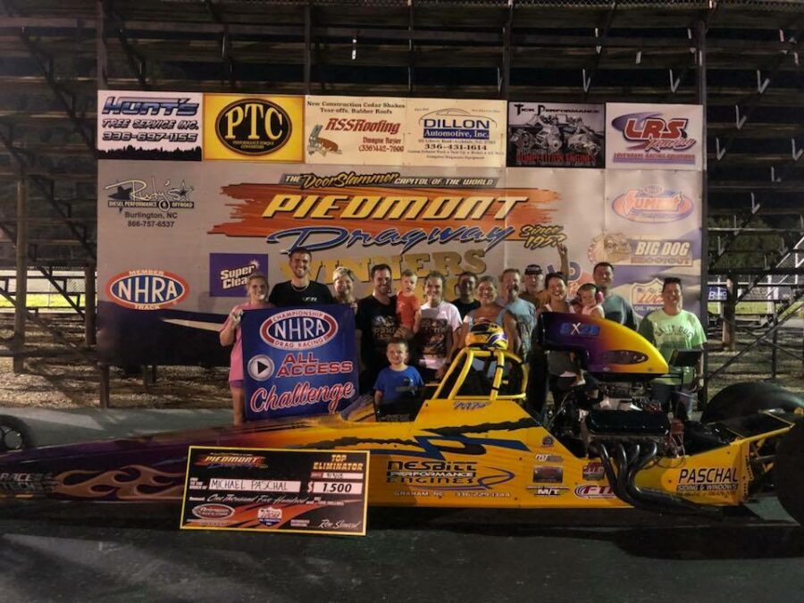 Michael Paschal Closes the deal on the Piedmont Track Championship