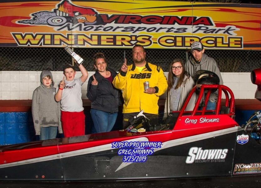 Showns cash's in at Virginia Motorsports Park!