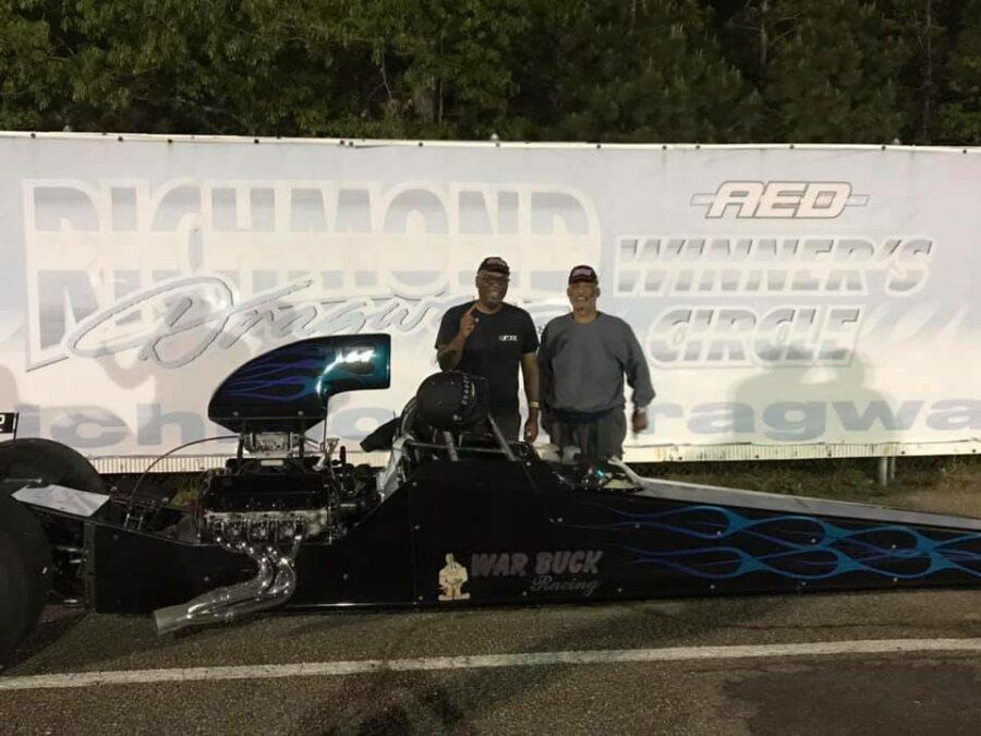 Bruce Harrison grabs a Gambler Race win at Richmond Dragway