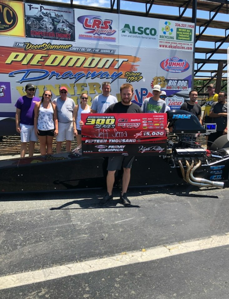 Jeff Serra Grabs 15k at Piedmont